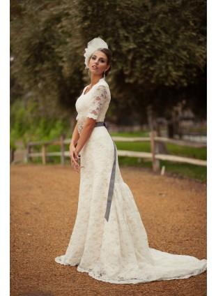 Bridal Gown - Lace Trumpet Gown
