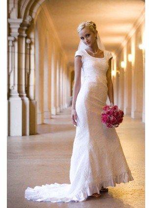 Bridal Gown - Lace Sheath